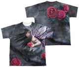 Youth: Anne Stokes - Rose Fairy (Front - Back Print) Shirt