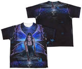 Youth: Anne Stokes - Immortal Flight (Front - Back Print) T-shirts