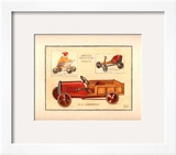 Camionette Print by Laurence David