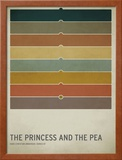 The Princess and the Pea Poster by Christian Jackson