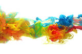 Colorful Ink in Water Photographic Print by  SSilver