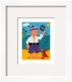Treasure Island II Posters by Sophie Harding