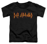 Toddler: Def Leppard - Horizontal Logo T-shirts