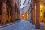 Bologna - via Santo Stefano (St. Stephen) Street Photographic Print by Renáta Sedmáková