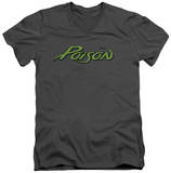 Poison - Logo V-Neck T-Shirt