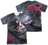 Anne Stokes - Rose Fairy (Front - Back Print) T-Shirt