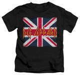 Youth: Def Leppard - Union Jack T-Shirt