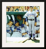 Dugout Prints by Norman Rockwell
