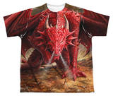 Youth: Anne Stokes - Dragon's Lair T-shirts