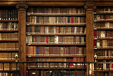 Library Books Photographic Print by  manuart