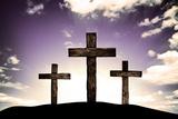 Crosses Fotografisk tryk af SkyLine