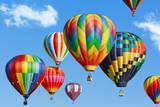 Mariusz Blach - Colorful Hot Air Balloons - Fotografik Baskı