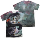 Anne Stokes - Dragon Dancer (Front - Back Print) Shirts