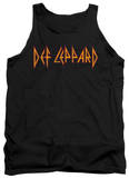Tank Top: Def Leppard - Horizontal Logo Tank Top