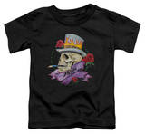 Toddler: Poison - Classic Skull T-Shirt