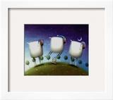 Insomniac Sheep Poster by Rob Scotton