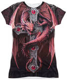 Juniors: Anne Stokes - Gothic Guardian T-shirts