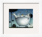Heaven is a Hot Bath Posters by Rob Scotton