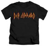 Juvenile: Def Leppard - Horizontal Logo T-shirts