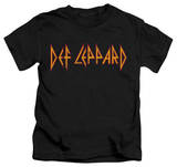 Youth: Def Leppard - Horizontal Logo T-shirts