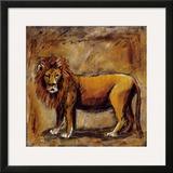 Safari Lion Prints by Tara Gamel