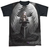 Anne Stokes - Prayer For The Fallen Black Back Sublimated