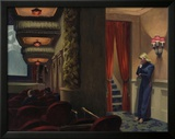 New York Movie, 1939 Framed Giclee Print by Edward Hopper