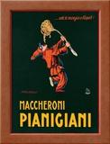 Maccheroni Pianigiani, 1922 Framed Giclee Print by Achille Luciano Mauzan