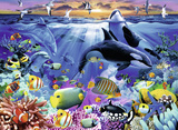 Oceanic Life 200 Piece Puzzle Jigsaw Puzzle