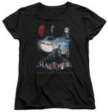 Womans: Batman: Arkham Knight - Villain Storm T-Shirt