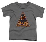 Toddler: Def Leppard - Distressed Logo - T-shirt