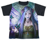 Youth: Anne Stokes - Mystic Aura Black Back Shirts