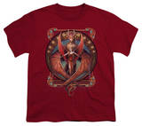 Youth: Anne Stokes - Copperwing Nouveau T-Shirt