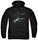 Hoodie: Batman: Arkham Knight - Knight Rider Pullover Hoodie