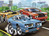 Muscle Cars 60 Piece Puzzle Jigsaw Puzzle