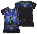 Juniors: Anne Stokes - Immortal Flight (Front - Back Print) T-shirts