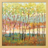 Distant Color Framed Giclee Print by Libby Smart