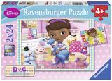 Doc McStuffins - Two 24 Piece Puzzles Jigsaw Puzzle