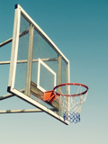 Vintage Basketball Goal Photographic Print by  designelements