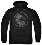 Hoodie: Mortal Kombat X - Stone Seal Pullover Hoodie