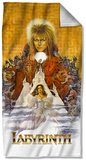 Labyrinth - Crystal Ball Beach Towel Beach Towel