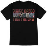 Judge Dredd - 2000 AD I Am The Law Tee T-Shirt