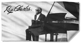 Ray Charles - Sunny Ray Beach Towel Beach Towel