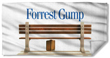 Forrest Gump - Bench Beach Towel Beach Towel