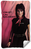 Joan Jett - Crimson And Clover Fleece Blanket Fleece Blanket