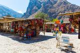 Souvenir Market on Street of Ollantaytambo,Peru,South America Photographic Print by  vitmark