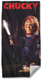 Childs Play 3 - Knife Beach Towel Beach Towel