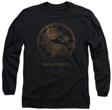 Long Sleeve: Mortal Kombat X - Metal Seal Long Sleeves