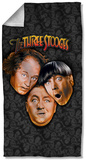 Three Stooges - Stooges All Over Beach Towel Beach Towel