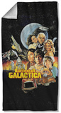 Battlestar Galactica - Vintage Poster Beach Towel Beach Towel